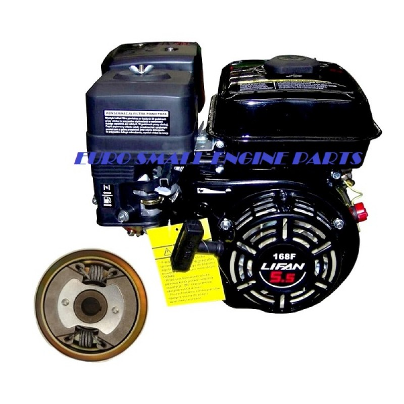 LIFAN Engine 5 5hp (Honda GX160) + Noram Centrifugal Clutch 3/4