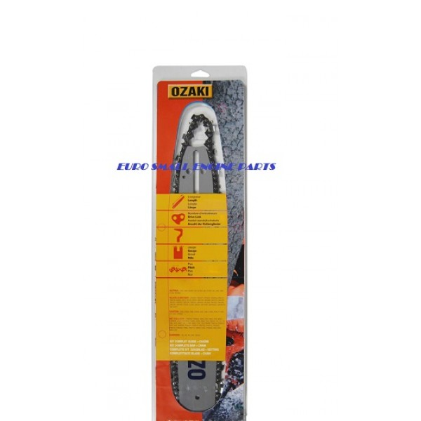 "Ozaki 18/"" 3//8/"" 1.6mm Pro Quality Chainsaw Chain For Stihl 029 034 036 038 039"